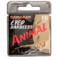KAMASAN ANIMAL EYED BARBLESS  HOOKS